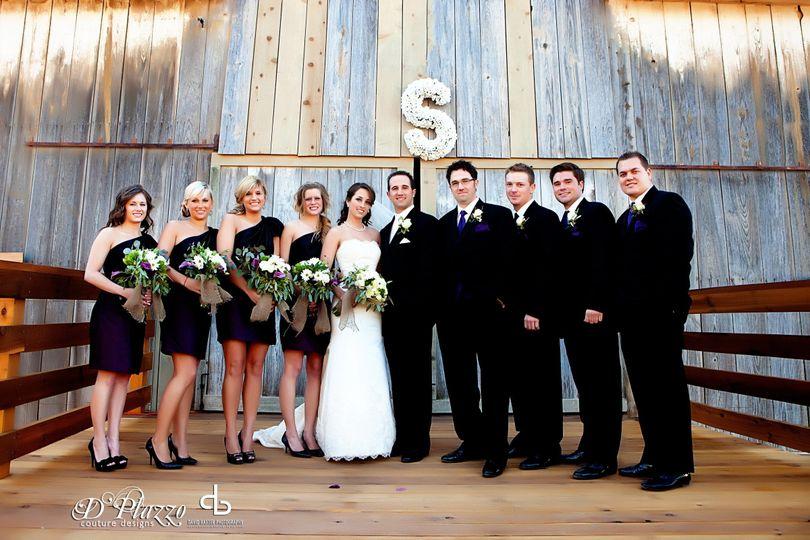 D'Plazzo Wedding Planners loved this barn wedding.