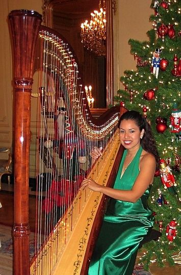 holiday harp music