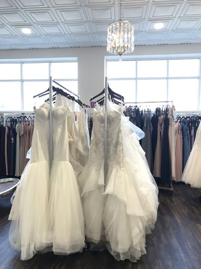 Over 400 wedding dresses