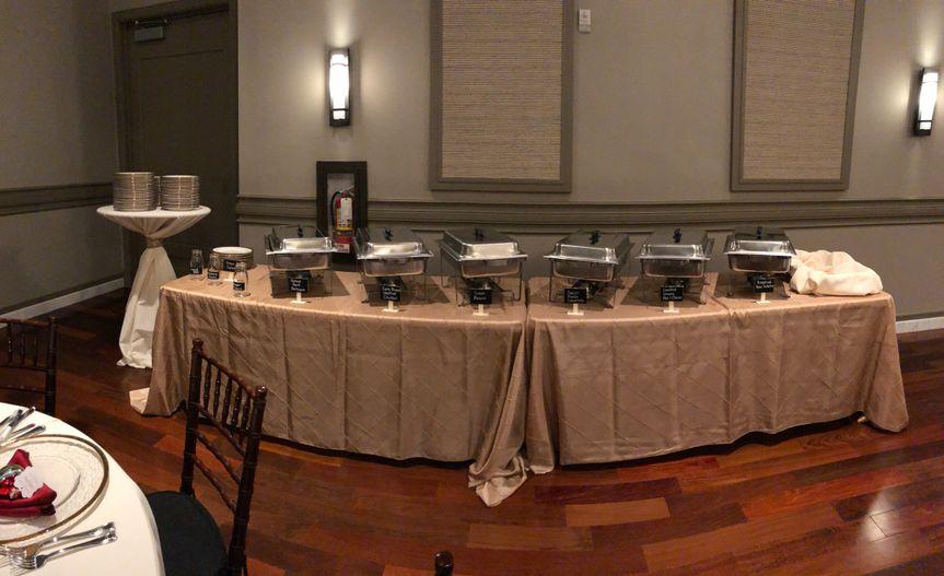 Dinner buffet - noah's event center