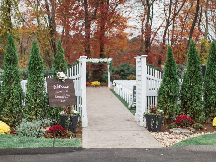 Tmx Avenir October Fall Wedding Ceremony Welcome Sign 51 1002342 158404448048189 Walpole, MA wedding venue