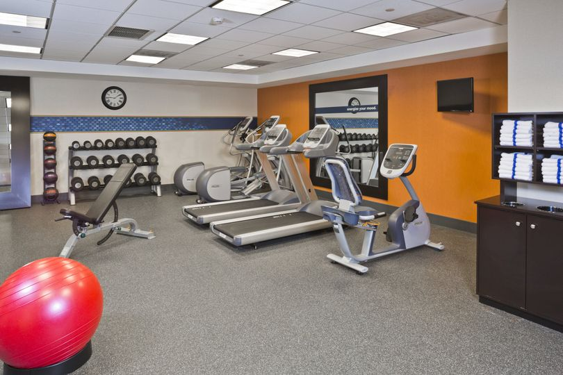 Our fully equipped Fitness Center
