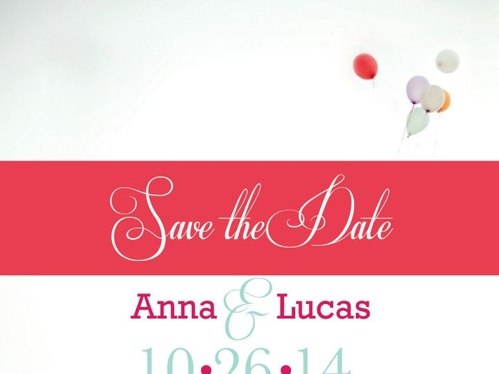 Tmx 1447259820929 Save The Date Ex 1 Marietta wedding invitation