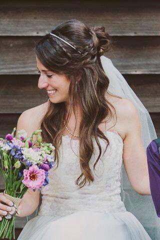 Stolen shot of the bride