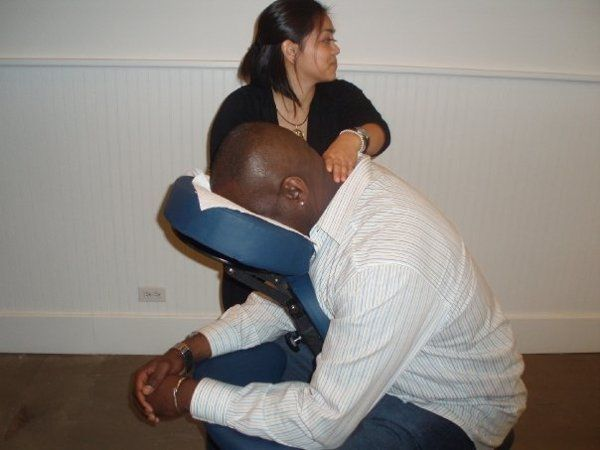 Relaxing Chair Massage for Corporate Events