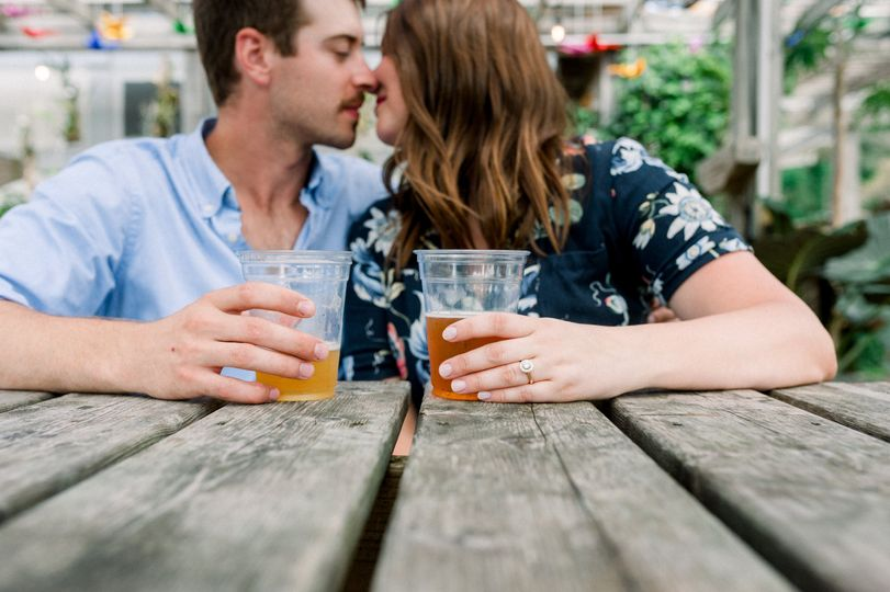 Newfields Beer Garden