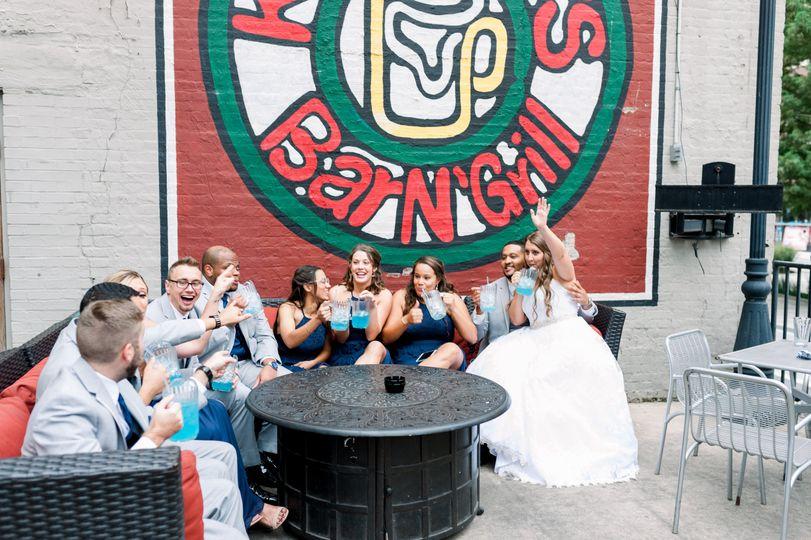 Wedding Party Shenanigans