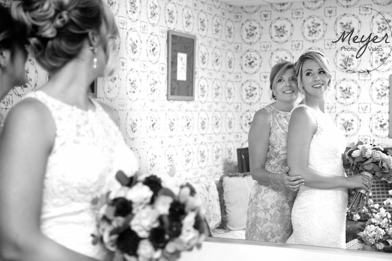 The Bride & Her Mom