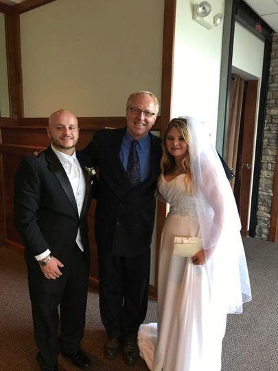 After wedding shot