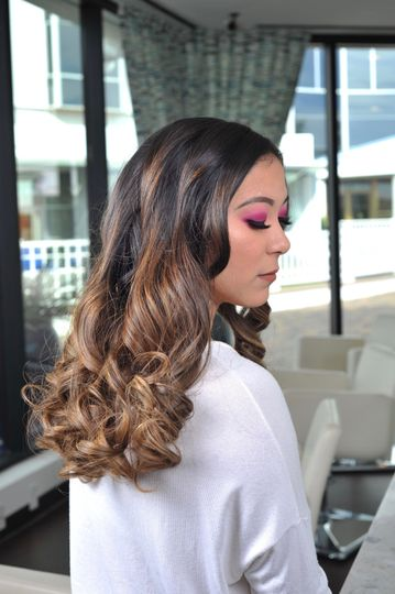 Fun hair & makeup for bachelorette parties
