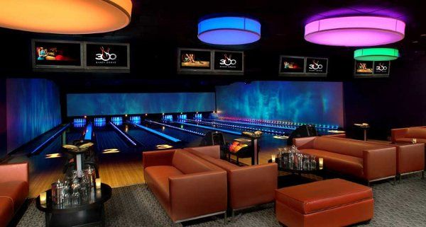 Club 300, private 8 lane bowling suite
