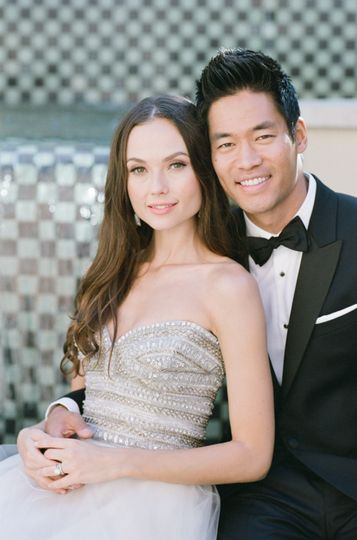 David Lim and his wife in Cali