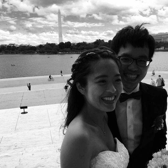 Lincoln Memorial Wedding