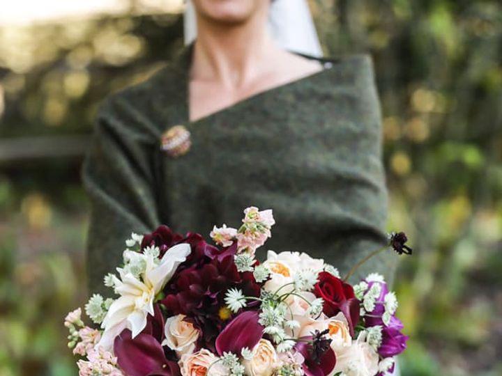 Tmx Blush Burgendy Bridal Flowers Wit Shawl 51 921442 V2 Lutherville Timonium, MD wedding planner