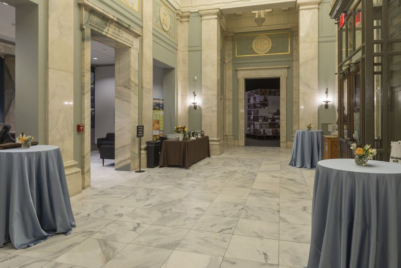 The Cochrane Lobby is our original historic entrance hall, with high ceilings and graceful marble...