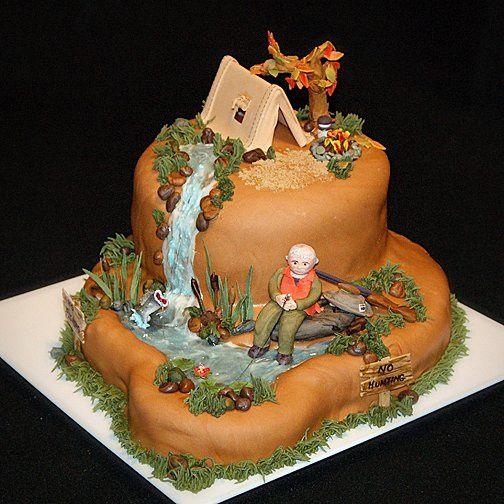 Tmx 1256830748755 Campinghuntingfishingcake Warminster wedding cake