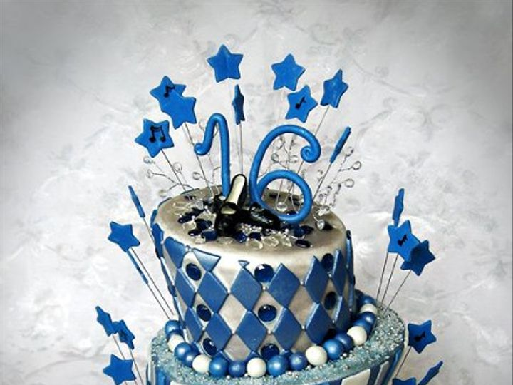 Tmx 1276797457514 Blingsweetsixteencakesm Warminster wedding cake