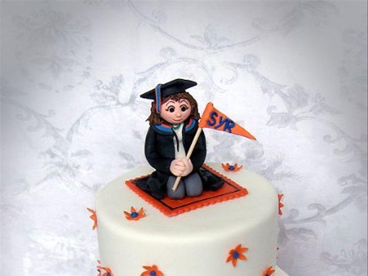 Tmx 1276797495233 SyracuseUniversityGraduationCakesm Warminster wedding cake