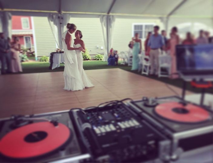 A bridal dance
