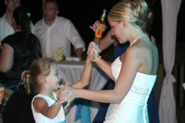 "Even little girls know the ""best"" dance is with the bride.."