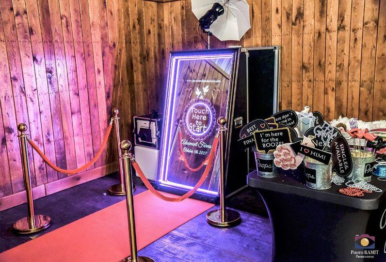 Photo RAMIT NC Magic Mirror Setup