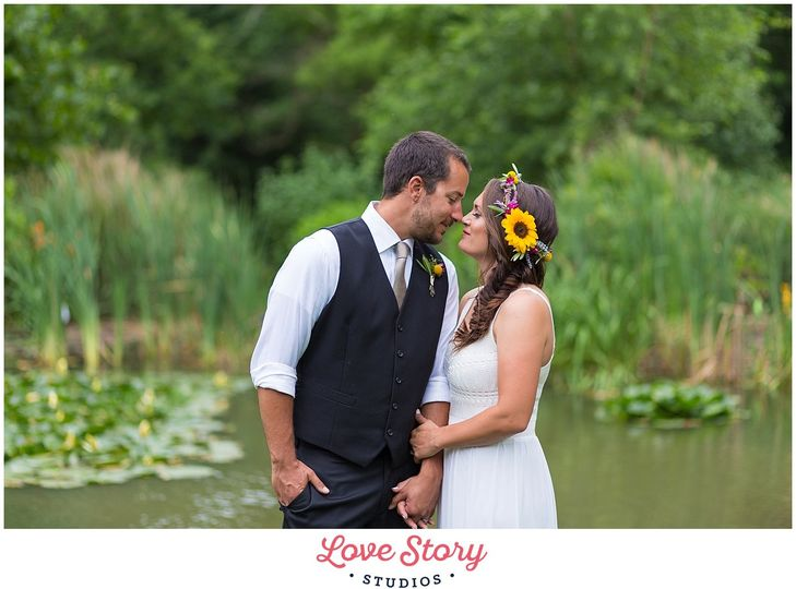 cristina kevin boho chic themed wedding photograph