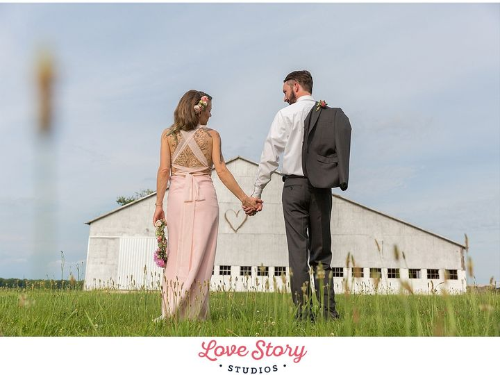 Tmx 1469150977302 Jill Stephen Pretty Pink Barn Wheat Field Themed W Haddonfield wedding photography
