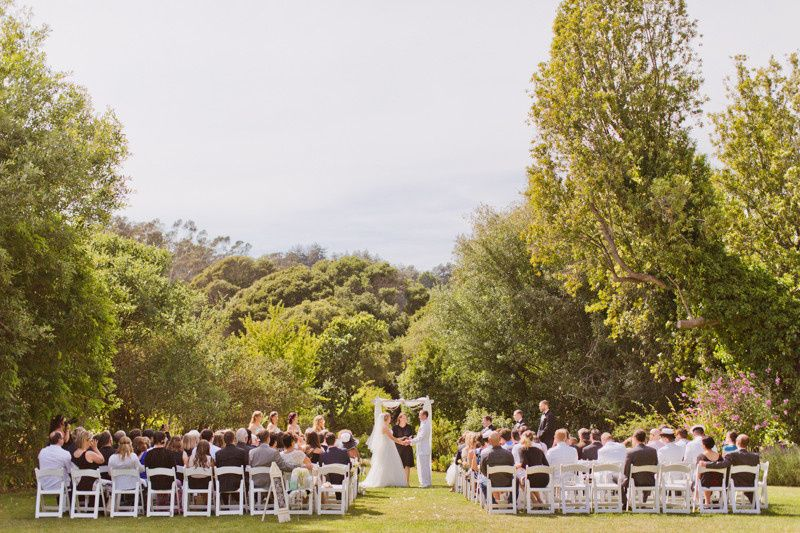 Have your ceremony underneath these gorgeous trees!