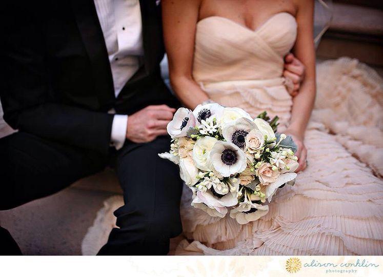 bouquet close up of pew alison conklin union leagu