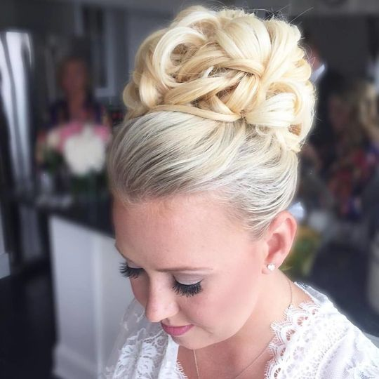 Slightly complicated updo