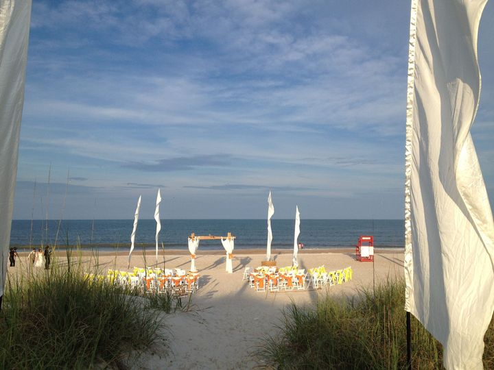 Beach Ceremony Slider's