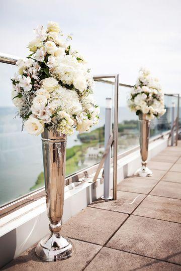 BluVu Terrace ceremony