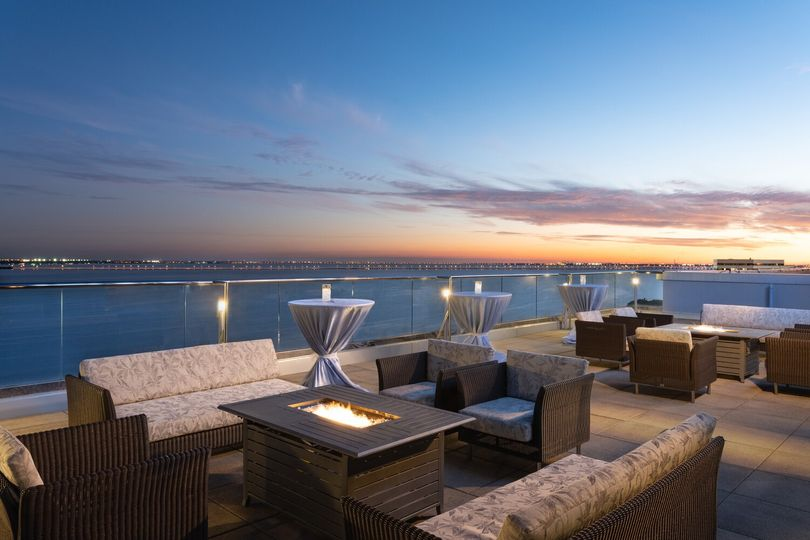 BluVu Terrace Sunset