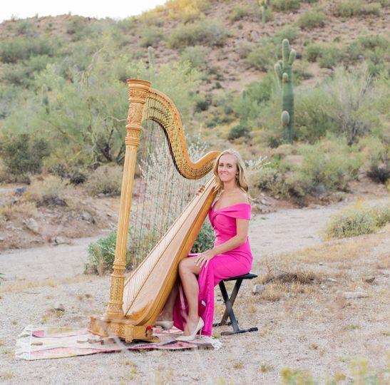 Love for harp music