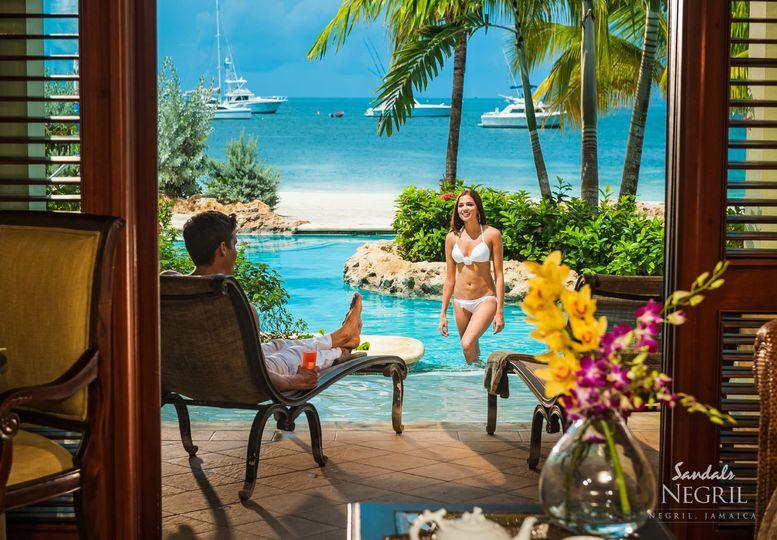 Resort honeymoon