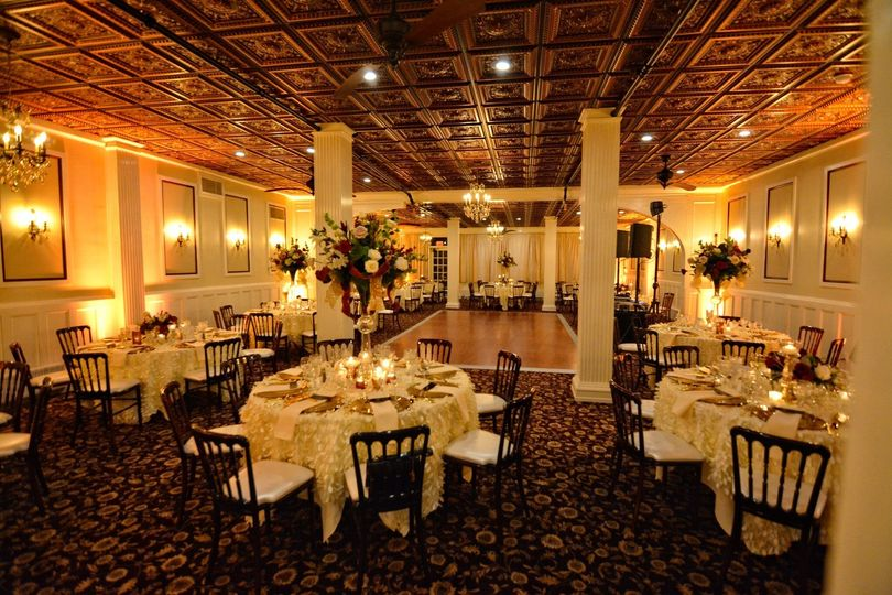 Ballroom for New Year's | Décor/Flowers by Bradley James Photos Tetamore Photography