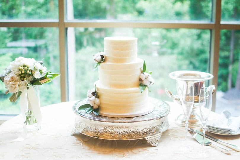 3-layer white cake
