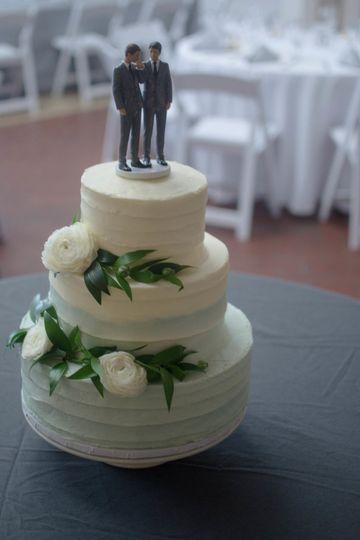 Groom and groom cake