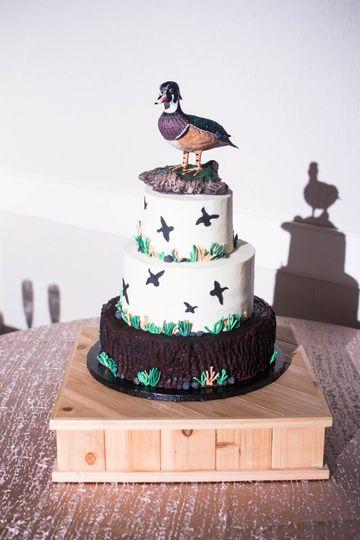 Groom's cake - Duck hunting