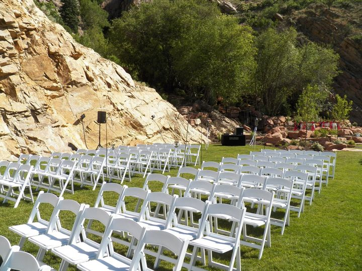 Outdoor ceremony sound and music - Louland Falls, Salt Lake City, Utah