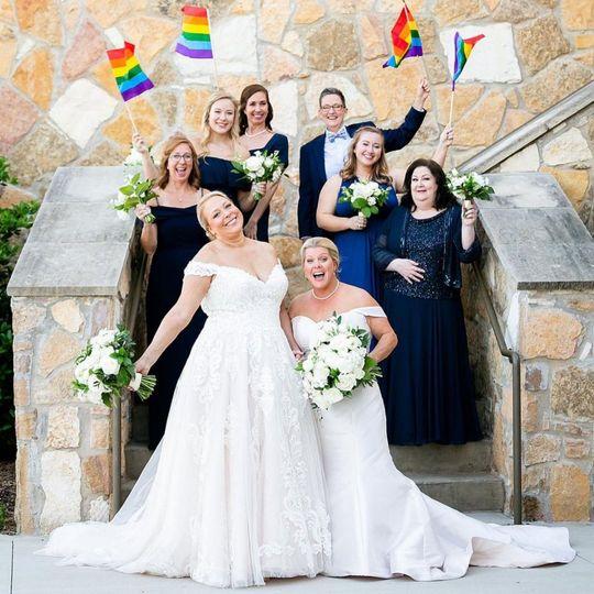 Gorgeous Lesbian Wedding!