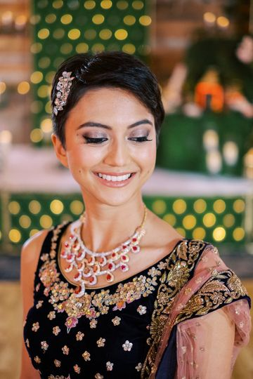 Indian Bridal Makeup & Hair