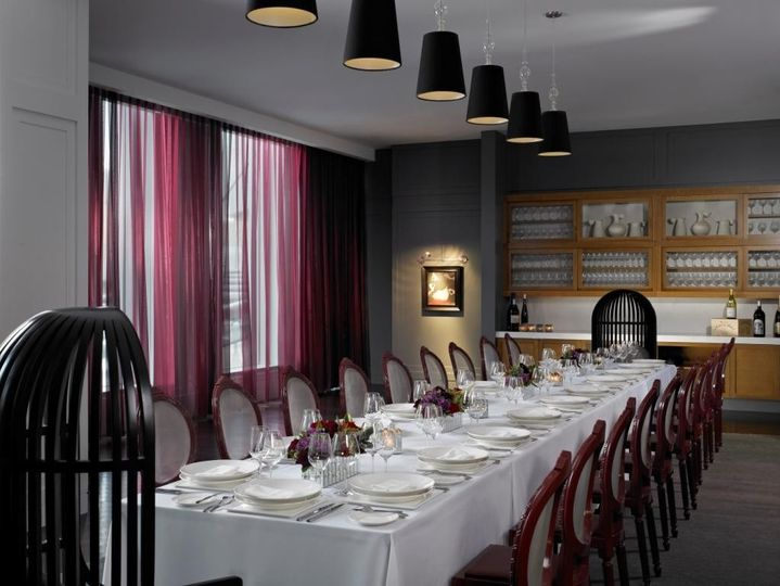 Private Dining Room, perfect for rehearsal dinners, farewell brunch and intimate gatherings