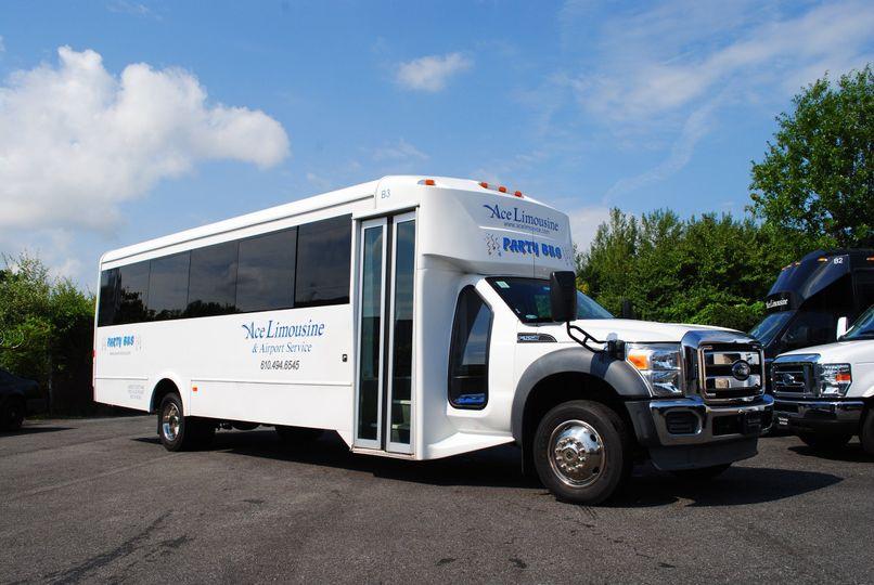 24-passenger party bus