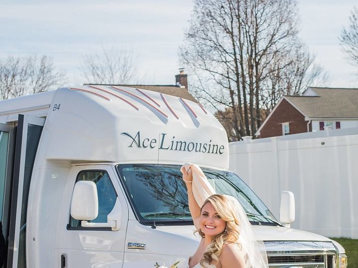 Tmx 1521208807 F229695e6e538ee3 1521208804 9288bbc496afcdbc 1521208805839 1 Wedding Photo 2018 Chester, Pennsylvania wedding transportation