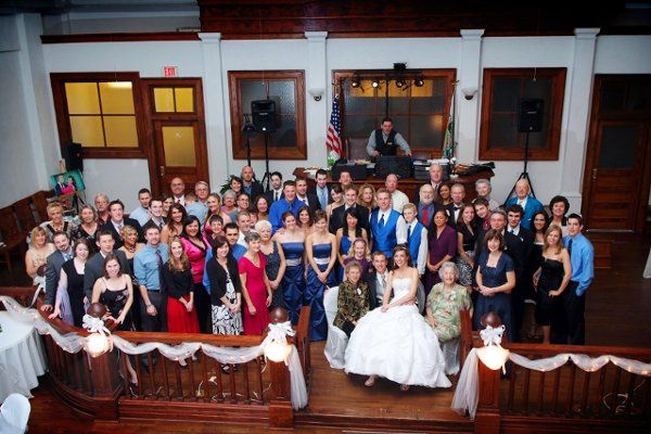 Court House Wedding Reception Party In Inverness FL.