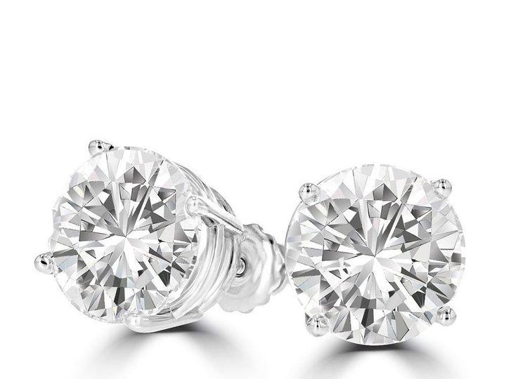 Tmx 1511776 Dia Studs 01 51 22642 1567015425 Tampa, Florida wedding jewelry