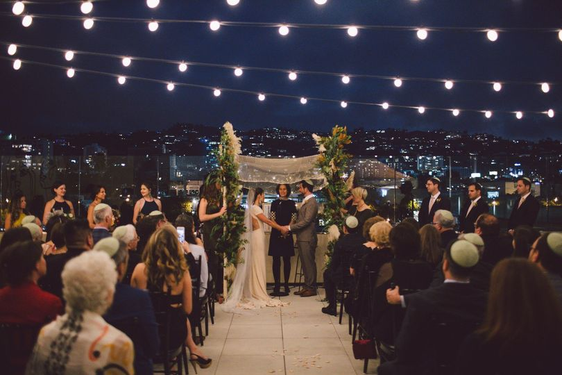 Rooftop Evening Ceremony