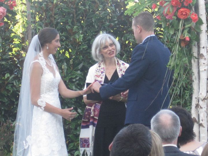 Rabbi Vanessa Ochs, wedding officiant