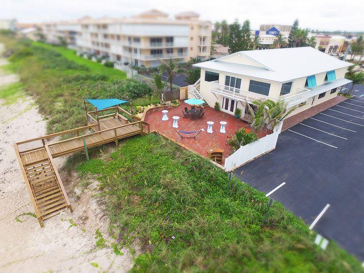 Beachfront house